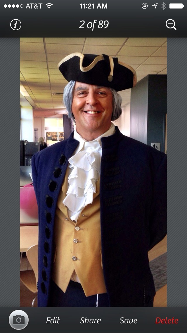 John as George Washington (2016)
