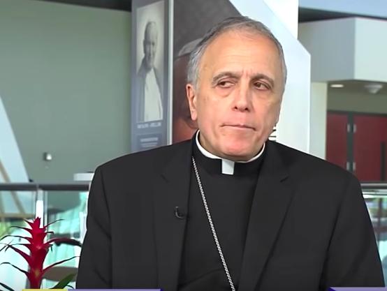 Cardinal Daniel DiNardo, head of the US Conference of Catholic Bishops, talking about the McCarrick mess ( EWTN News screengrab )