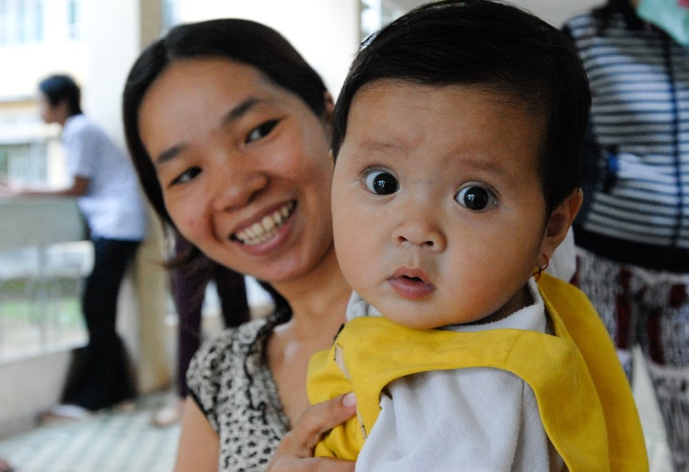 photo taken by a path jOURNEYS TRAVELER during a health clinic visit IN vIETNAM.