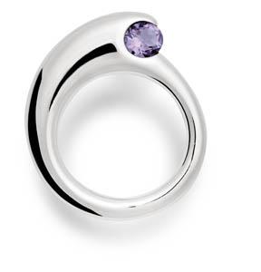 Shane Violet Topaz Ring