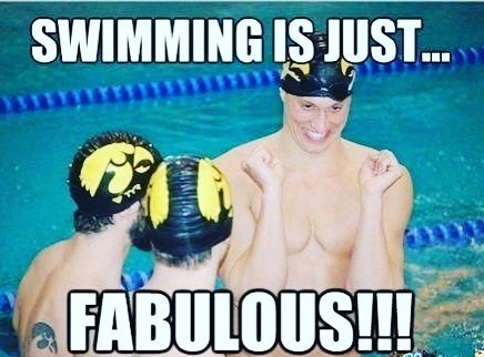 Old but gold, don't we all just looove swimming? (And sometimes it can even be a lil' fabulous 😉)❤️🏊‍♂️ #swimstagram #oldbutgold