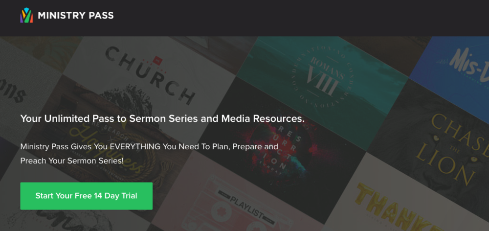 Try MINISTRY PASS for FREE! -