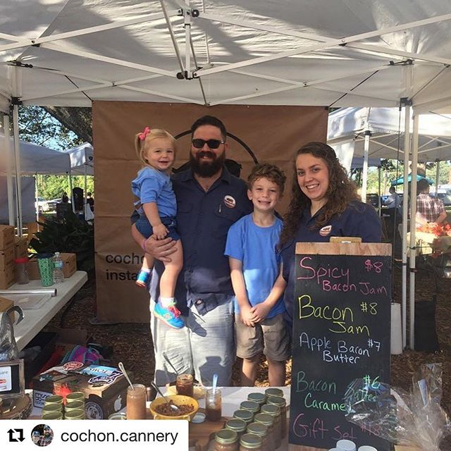 Thanks to @cochon.cannery for being part of the lineup at Platelunchapalooza Presented by @tonychacheres. You can find them every Saturday at the @marketatthehorsefarm!