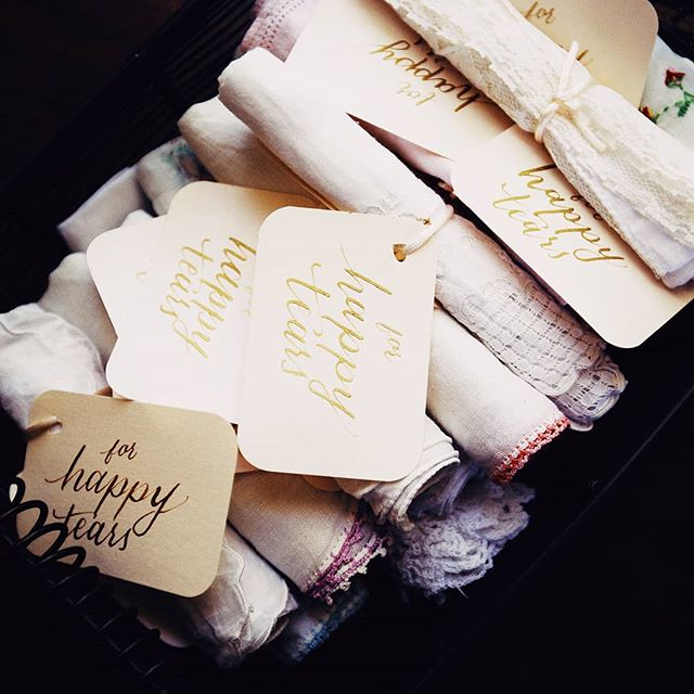 Actually, it isn't all about the details. I'm the photog who's always saying that. It's about the moments, the love and the happy tears. Though these darling heirloom handkerchiefs were the sweetest, the moments from this wedding are what really warm our hearts!  This was my thought while sifting through 2018 galleries as I prepare for the first wedding of the season tomorrow.  My advice to all of our couples and other engaged couples this year is to remember what's it all about. Don't lose yourself in the planning and details.  Cheers to another great season of love and memories!  #wedgracefully