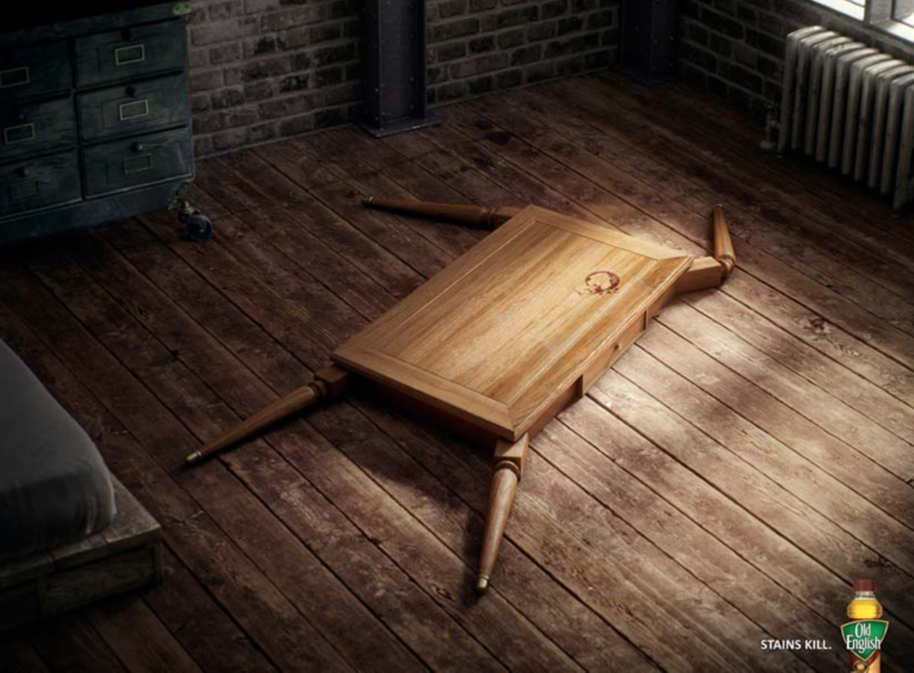 Old English Furniture Polish Stains Kill Dustin Duke