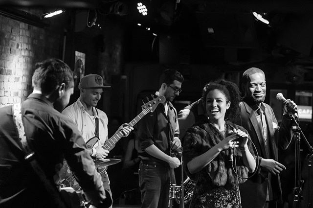 Every love song I sing I sing about this band 📸: delightful @dhee_kumar ••••• join the group hug tomorrow at @clubgroovenyc 7:30pm!