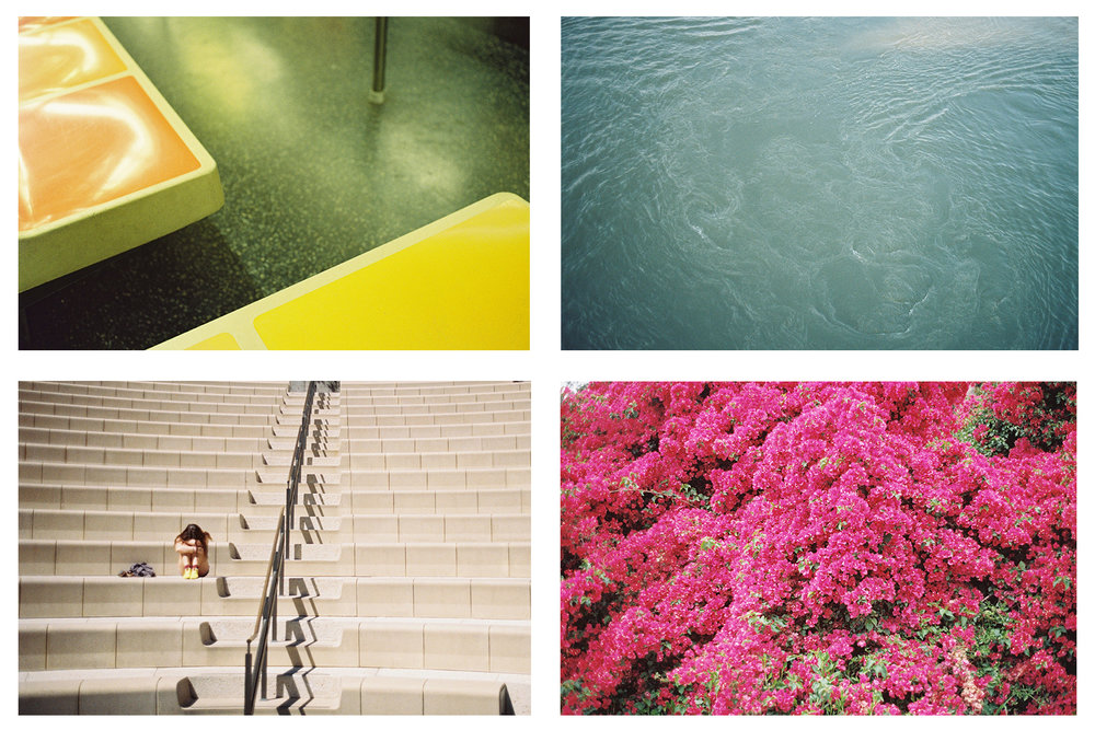 Solitude / Water / Subway / Bougainvillea