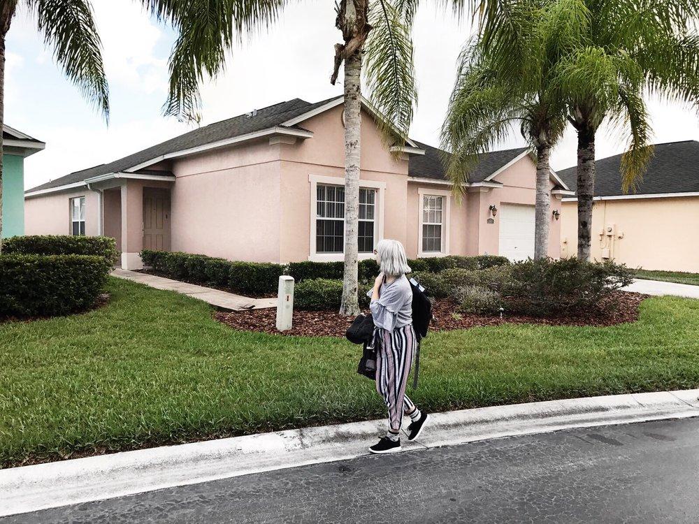 walking in florida