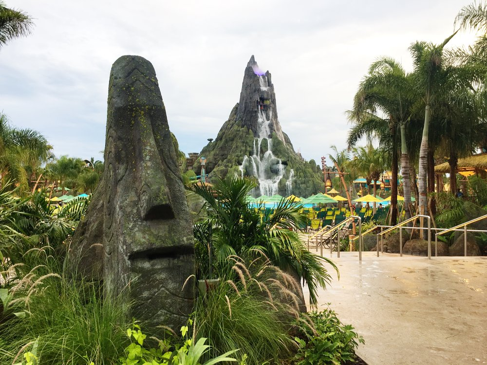 volcano bay front