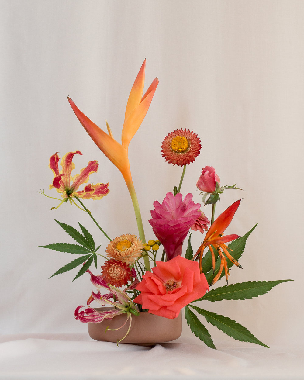 Seeking Arrangement — Floral Design by Amy Merrick, Photo by Anja Charbonneau. From  Broccoli  Issue 01.