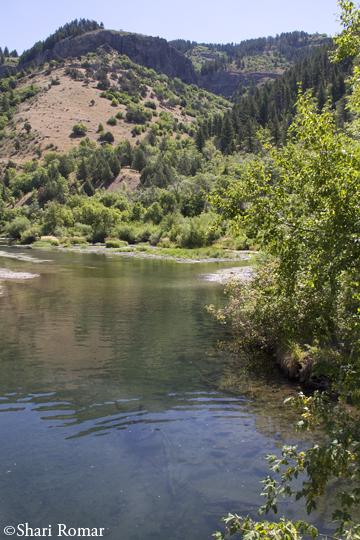 3rd Dam, Logan Canyon - Wasatch National Forest