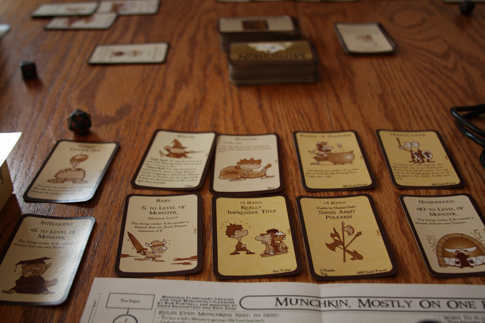 - The Charity mechanic actually adds an element of desirability to being last place in Munchkin.Image: Flickr User Loimere