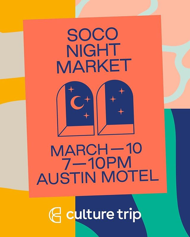 Come see us at @sxsw this Sunday night! We'll be at the @austinmotel from 7-10pm with some of our favorite fellow creatives. ✌�#pretticoolpopups #atx #sxsw