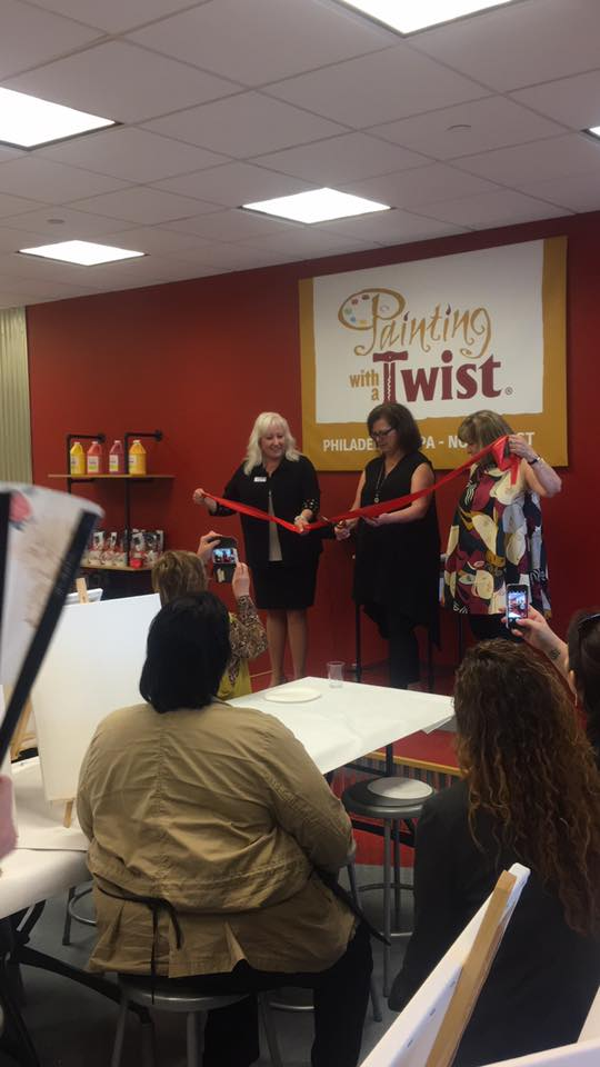 The duo at the grand opening of their Northeast Philadelphia location in April 2017.