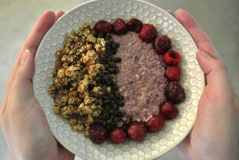 Black Forest Chia Pudding I'd Eat That Food