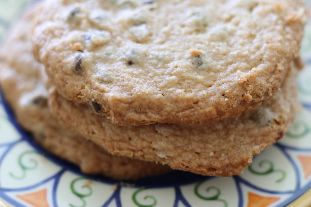 grain free salted peanut butter chocolate chip cookies I'd Eat That Food