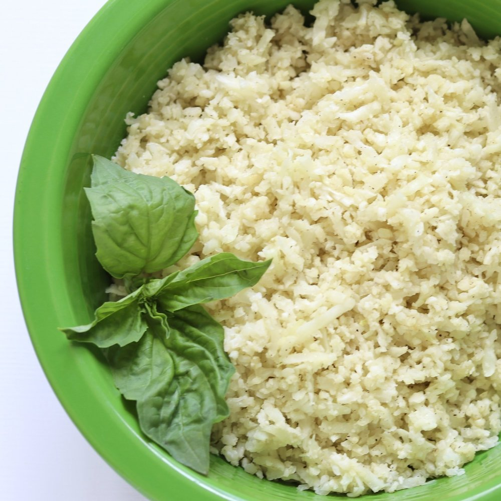 Basic Caulirice I'd Eat That food