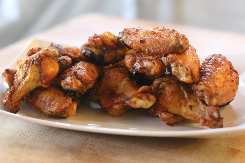 Dry Rubbed Chicken Wings I'd Eat That Food