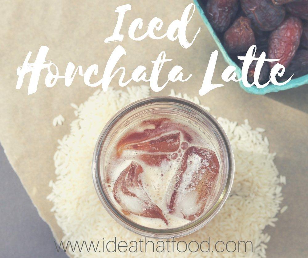 Iced Horchata Latte I'd Et That Food