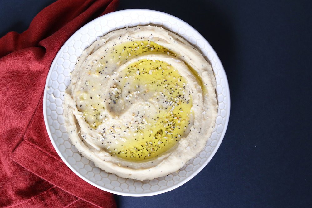 Everything Bagel Hummus I'd Eat That Food