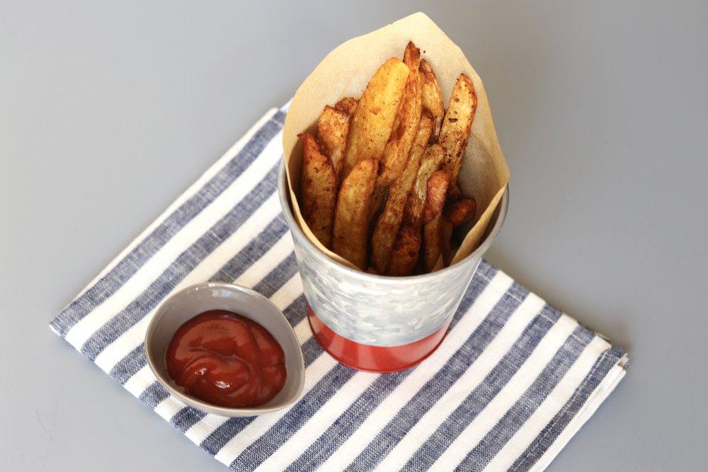 Burger Spice Fries I'd Eat That Food