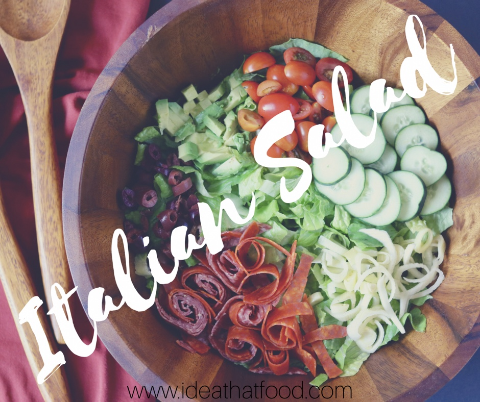 Italian Salad I'd Eat That Food