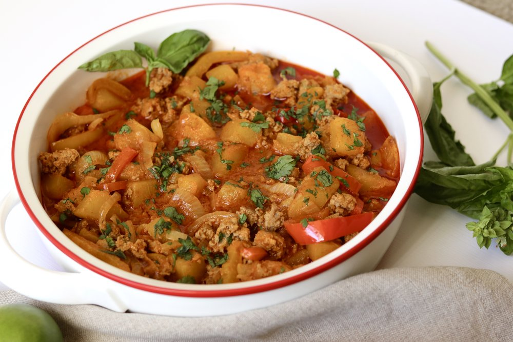 Thai Turkey and Squash Curry I'd Eat That Food