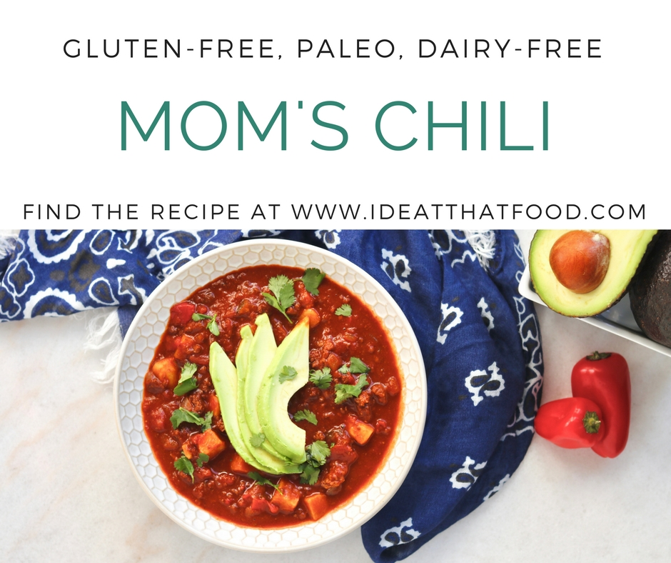 Mom's Chili by I'd Eat That Food