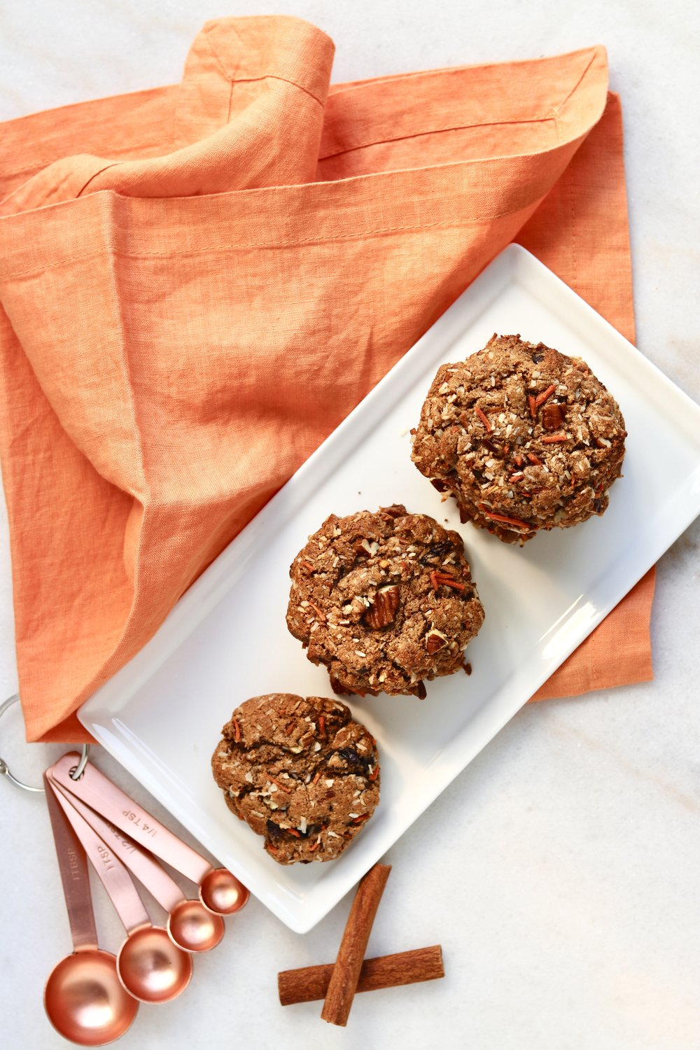 Paleo Carrot Cake Cookies by I'd Eat That Food