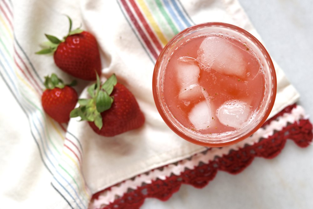Strawberry Rose Sparkler by I'd Eat That Food