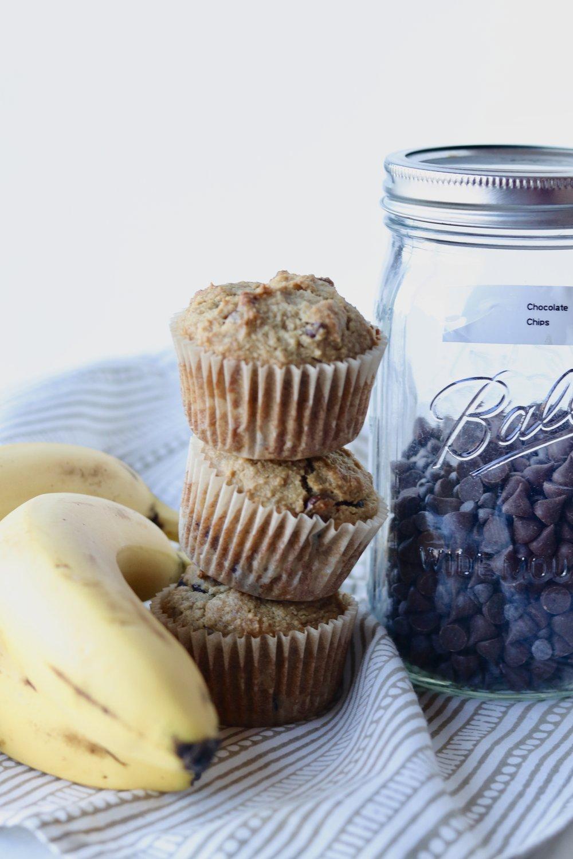 Grain-Free Classic Banana Bread Muffins