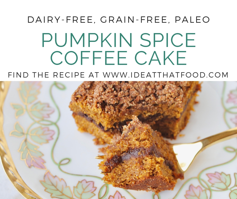 Pumpkin Spice Coffee Cake by I'd Eat That Food