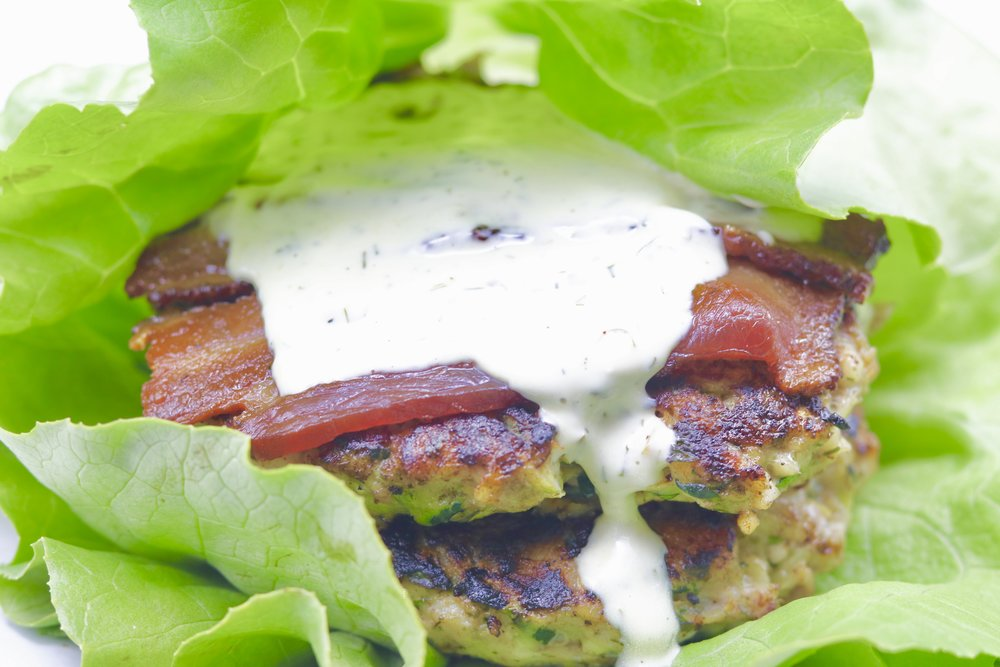 Hidden Veggie Ranch Burgers from Diane Sanfilippo's Keto Quick Start