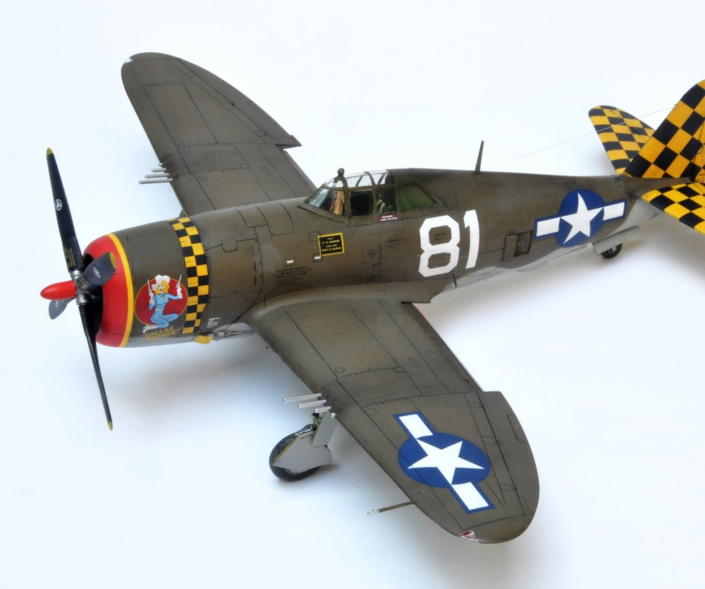 P-47 Richard Banko Tamiya 1/48