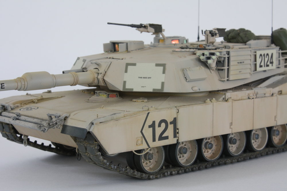 M1A2 Abrams Anders Quigg Dragon 1/35