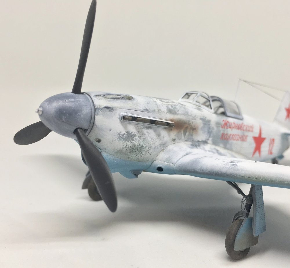 Yak-1B Anders Quigg Accurate Miniatures - 1/48