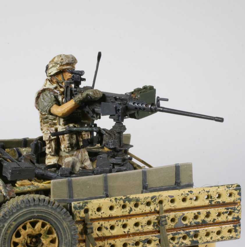 Defender WMIK Mike Powers Accurate Armour 1/35