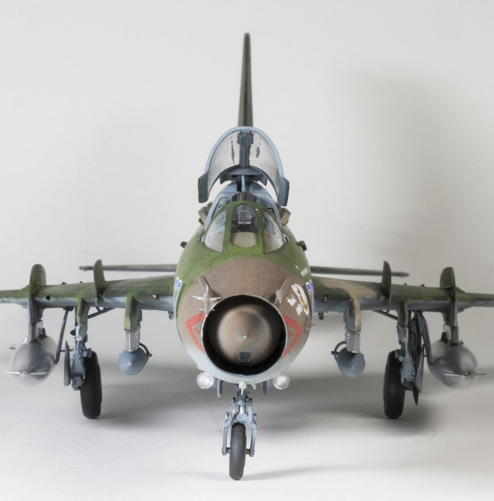 Sukhoi Su17M3/M4 Anders Quigg Kitty Hawk, 1/48