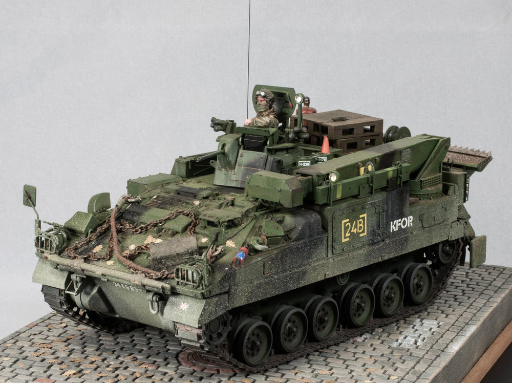 Warrior MCRV Mike Powers Accurate Armour 1/35
