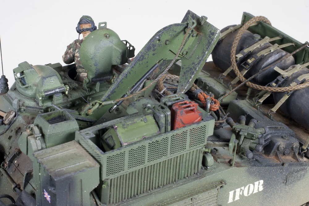 FV180 Combat Engineering Tractor Mike Powers Accurate Armour 1/35