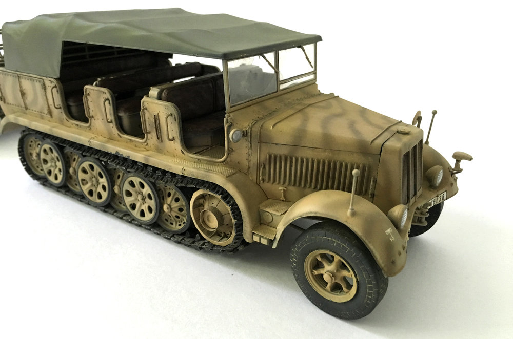 Sd. Kfz 7 + 8.8cm Flak 36 Anders Quigg Dragon 1/35