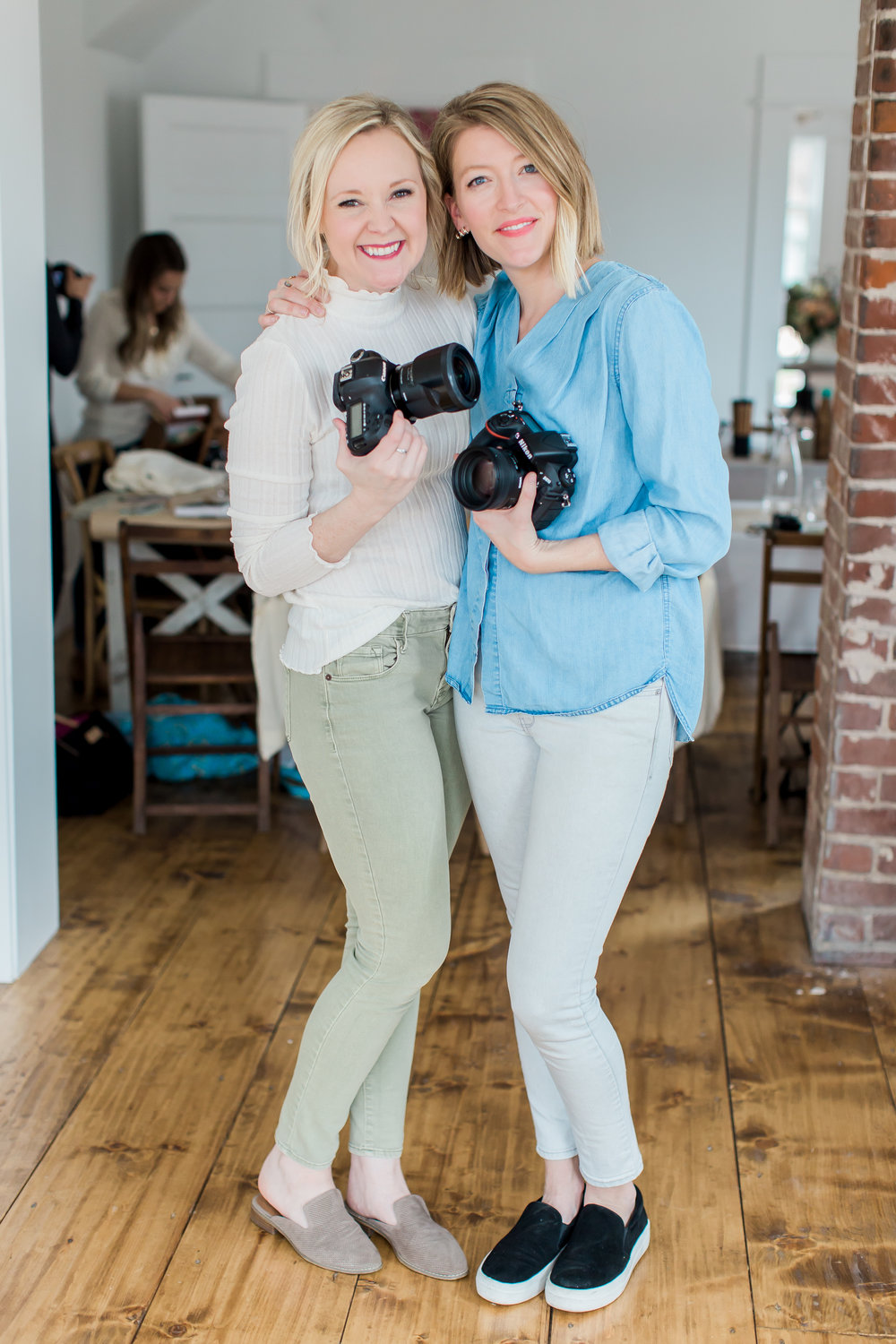 Angela Williams  and  Kacey Gilpin at Kindred Tulsa, Kindred Photography Workshop  Creators and Instructors