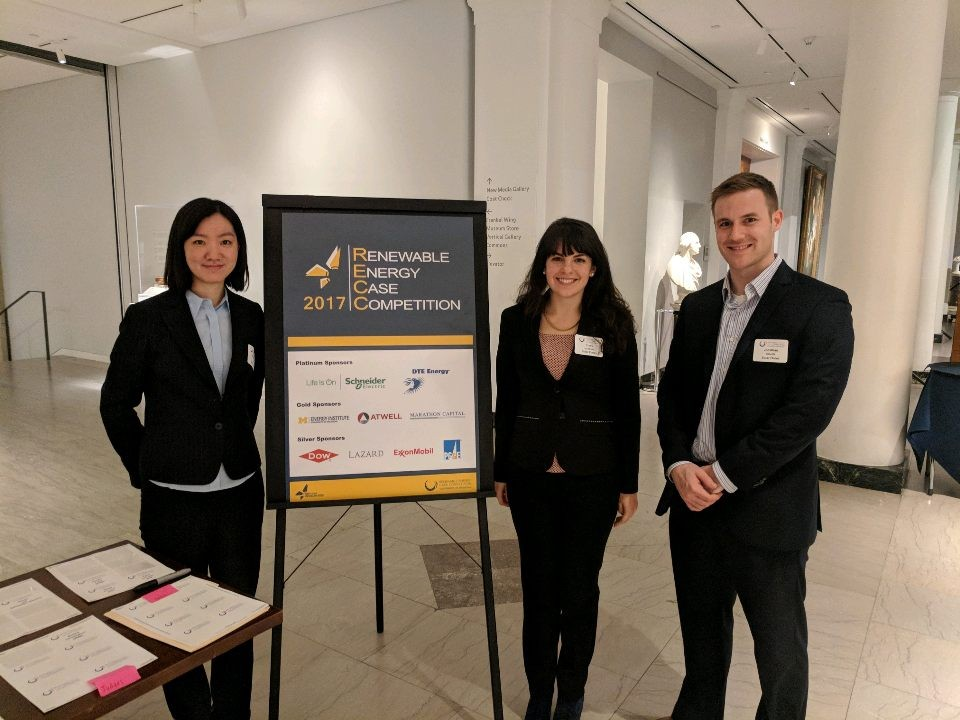 Pictured (L to R): Stephanie Chen, Tracy Jacobson, Jonathan Kienzle