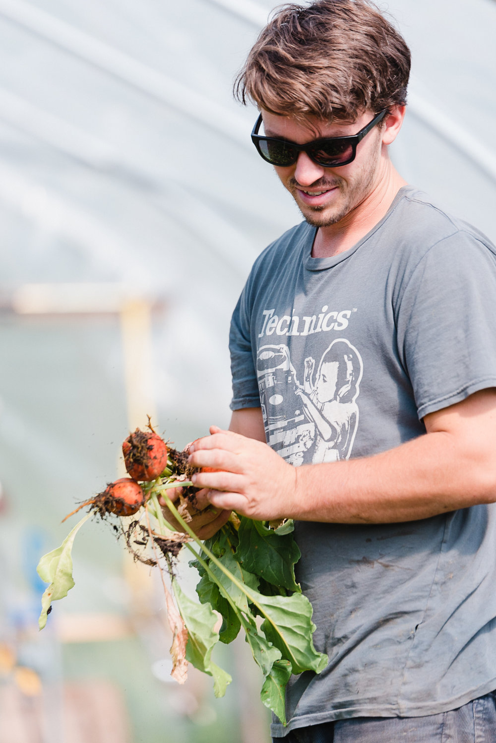 Farmstead Catering -- Chef Taylor LaFleur brings out the incredible flavors of the local organic food grown on Echo Farm.