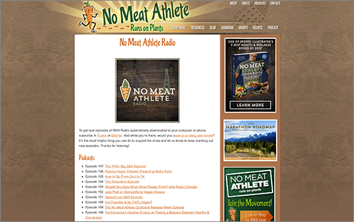 No Meat Athlete Podcast