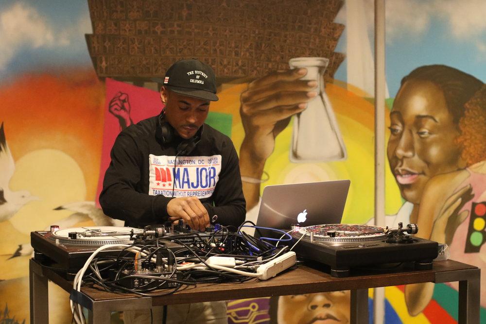 the DJ,