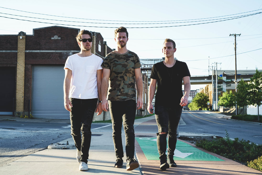 """- SECOND FLOOR STEREO is a Nashville pop/punk band made up of Brantley Pollock (vocals/guitar), Erich Sandersfeld (drummer/producer), and Nick Schmutte (vocals/guitar). Erich and Brantley came together in 2015, with Nick joining shortly after. The trio came together over their mutual love of """"pop/punk"""", fusing elements of punk rock and pop music, combining uptempo arrangements with driving electric guitar hooks and catchy, pop-driven choruses and is quickly gaining fans.Pollock, who has spent the better part of the last decade acting in various television roles, appreciates the importance of doing what you love. """"Not only is Second Floor Stereo one of the most fun projects I've ever done, it also allows us to make music the way we want to."""" For Sandersfeld, the key is good songs. """"I want to write really good songs as a band that sound incredible and also connect well with people in a live setting.""""It's not hard to see that Second Floor Stereo is having the time of their lives making music that its founders love. """"It allows us to make music the way we want to. There is no creative leash, there isn't a third-party vision that we're having to adapt to. It's awesome."""" says the trio. """"I told people in my home town that I was going to move to Nashville and play drums in a punk band, and was kind of joking, but it's happening so that's cool I guess."""