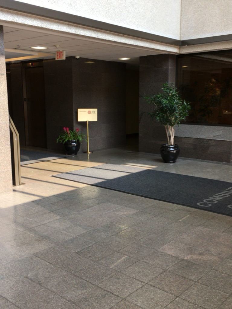 Existing Building Lobby
