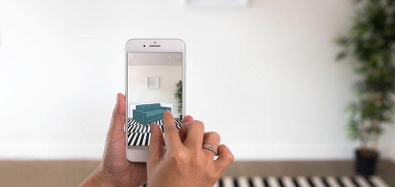 Houzz AR app - New experience.