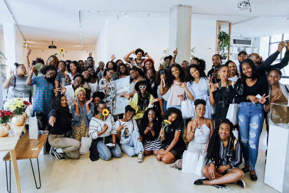 This photo belongs to  Black British Bloggers  and was taken by  Ubuntugraphy